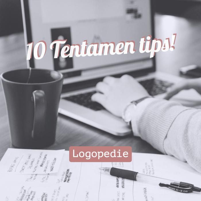 10 Tentamen tips!